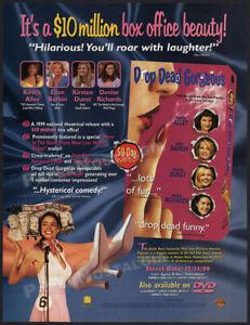 DROP DEAD GORGEOUS__Orig. 1999 Trade AD / ADVERT__Kirsten Dunst__Allison Janney