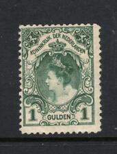 Netherlands 1899 1 Gulden - OG MH - SC# 83  Cats $52.50