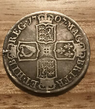 More details for queen anne 1707 e halfcrown - ex-mount