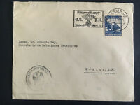 1936 Berlin Germany Cover To Mexico Ministry of Foreign Relations Ibero American