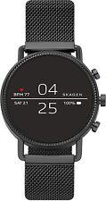 Skagen Falster 2 Touchscreen Smartwatch Black Magnetic Steel Mesh