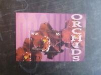 2003 NEVIS ORCHIDS STAMP MINI SHEET MNH