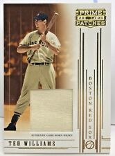 Ted Williams 2005 Donruss Prime Patches Jumbo GU Jersey #'d/150 - BOSTON RED SOX