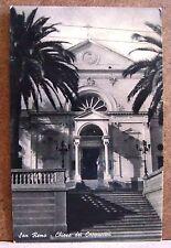San Remo - Chiesa dei Cappuccini [piccola, b/n, viaggiata]