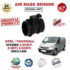FOR OPEL VAUXHALL VIVARO 2.0 2.5 DTi CDTi 2003-> AIR MASS SENSOR 6 PIN w HOUSING