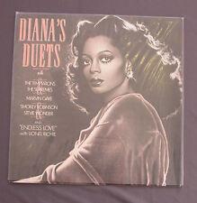 """Vinilo LP 12"""" 33 rpm DIANA'S ROSS DUETS Marvin Gaye Stevie Wonder Lionel Richie"""