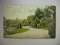 VINTAGE POSTCARD OF THE DRIVE AT SOLDIERS' HOME IN DAYTON, OHIO 1911