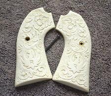 Bisley Grips For Ruger Frames Carved Scroll Works. Very Nice!