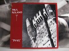 PAUL ROLAND - DUEL - LP NEAR MINT 1989 DIVA RECORDS