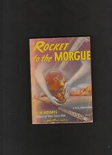 VINTAGE PB ROCKET TO THE MORGUE.PHANTOM MYSTERY BOOK#1. 1943.NICE!