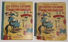 RARE - LES PETITS COCHONS ET LA MACHINE DIABOLIQUE WALT DISNEY, EO HACHETTE 1939