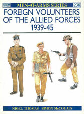 OSPREY MAA 238 FOREIGN VOLUNTEERS ALLIED FORCES 1939-45 WW2 POLES DUTCH FRENCH