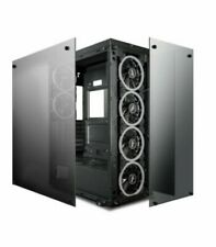 darkFlash Phantom ATX Mid-Tower Computer Case Tempered Glass W/ 6pcs RGB fans