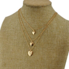 New Forever21 Strands Heart Pendant Necklace Gift Fashion Women Holiday Jewelry