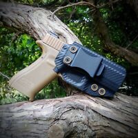 IWB KYDEX HOLSTER FOR GLOCK 19 23 HANDMADE IN USA!! CARBON FIBER COLOR OPTIONS!!