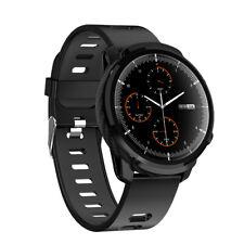 Reloj Inteligente Impermeable seguimiento para ejercicio Presión Arterial Frecuencia Cardíaca para iOS Android