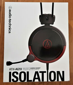 Audio-Technica ATH-AG1X Headset Geschlossene Gaming Kopfhörer Schwarz NEU & OVP
