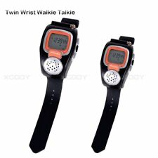 Portable Wrist Watch Walkie Talkie for Outdoor Sport Hiking 1 Pair For Gift LCD