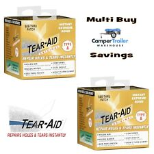 Tear Aid Type A -  Repair Roll x 2 - Fix Canvas, Fabric, Nylon, Sail, Annex BULK
