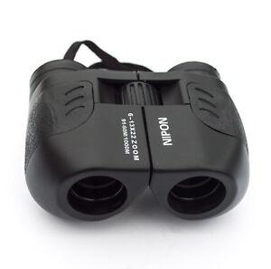 6-13x22 compact zoom binoculars. 6x to 13x adjustable magnification. Brand new