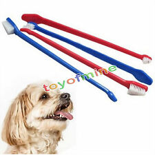 Dual End Cat Dog Puppy Toothbrush Dental Grooming Tooth Brush ~Random 1pc