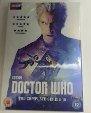 DR WHO COMPLETE SEASON / SERIES 10 TENTH UK REGION 2 DVD BOXSET NEW/ SEALED