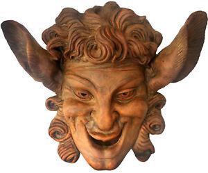 Copia della maschera di Villa Grabau in terracotta - Terracotta Mask copy 12303