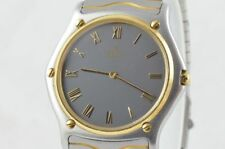 Ebel Sport Classique Men's Watch 37MM 181903 Steel /750 Gold Nice Condition