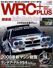 [BOOK+DVD] WRC PLUS vol.01 2008 Lancia Delta S4 Subaru Impreza Suzuki SX4 Japan