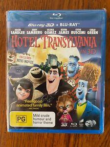 Hotel Transylvania 3D + 2D Blu-ray LIKE NEW Ex Video Ezy Stock