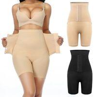 Women High Waist Shaping Panties Fajas Waist Trainer Body Shaper Control Shorts