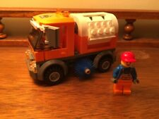 Lego 8404 City Public Transport STREET SWEEPER only, Retired, HTF, w/ Minifigure