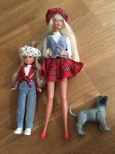 Vintage Barbie Doll Set