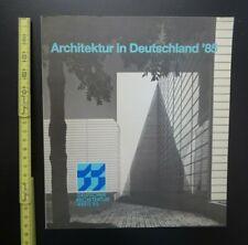 Architektur Fachliteratur antiquarisch ARCHITEKTUR IN DEUTSCHLAND 85 Arch.Preis
