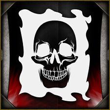 """Skull 22"" Airbrush Stencil Template Airsick"