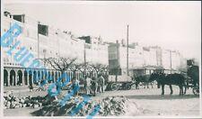 1949 Corunna Spain Street Scene Work men Fixing cobbled Street