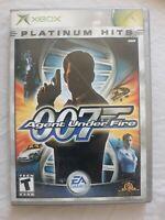 James Bond 007: Agent Under Fire (Platinum Hits) - Original Xbox Game - Complete