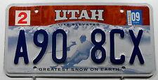 "TARGA USA da Utah sci ""Greatest Snow on earth."""" a90"". 9828"
