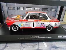 BMW 2002 ti Leru Racing #1 Manhalter 1000km 1974 Österreichring Minichamps 1:18
