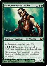 EZURI, RENEGADE LEADER Scars of Mirrodin MTG Green  Creature — Elf Warrior RARE