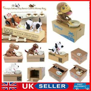 Dog Monkey Stealing Steal Coin Piggy Bank Money Box Kids Children Gift UK STOCK