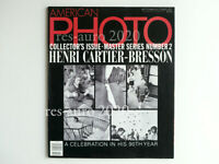 Bresson AMERICAN PHOTO Henri Cartier-Bresson Collector's Issue. 90 anni USA 1997