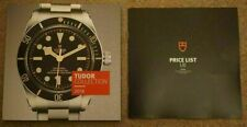 Tudor Collection ( Rolex ) Watch Catalogue Brochure 2018 2019 & Price List