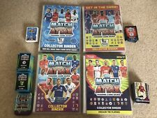Topps Match Attax Premier League 2013-2017 - 4 Collector Binders & 1500+ Cards