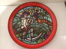 Poole Pottery Tony Morris Medieval Calendar Series Charger