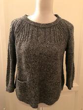 Maglione grigio sale e pepe TOPSHOP grey sweater jumper UK12 EU40 IT44