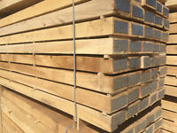 """NEW Eco-Friendly treated Oak Railway Sleepers Grade """"A"""" (delivery available)"""