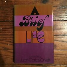 Juan Carlos Onetti - A Brief Life (Grossman, 1976) Latin American Fiction 1st