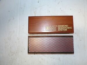 Vintage DMT Diamond Sharpening System Red Sharpening Stone