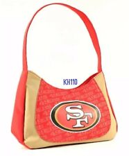 NFL San Francisco 49ers Curve Hobo Ladies Purse (%100 Authentic)